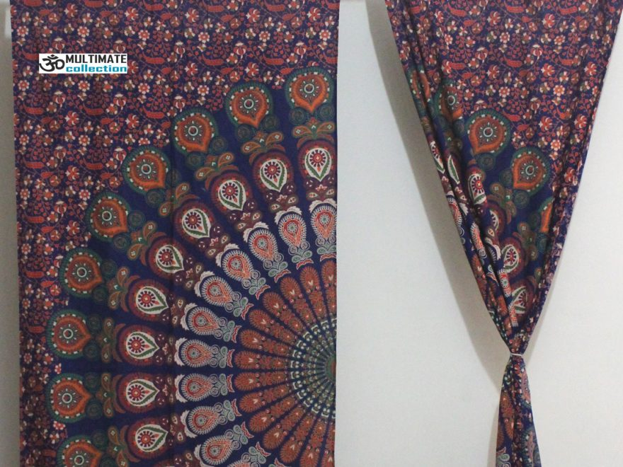 buy bohemian tapestry curtains online