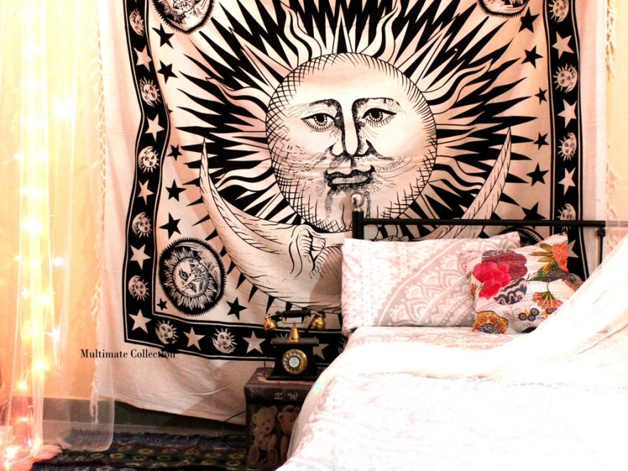 Buy Sun and Moon Tapestry Online