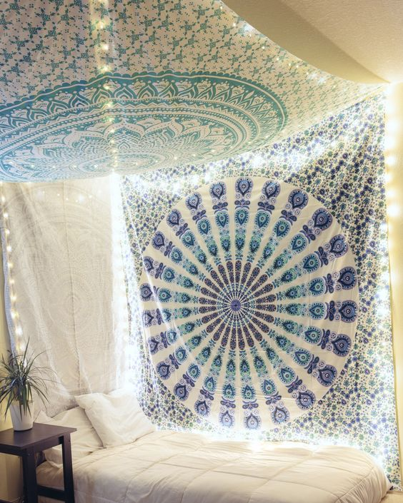 15+ Brilliant Ideas For Using Your Wall Tapestry In