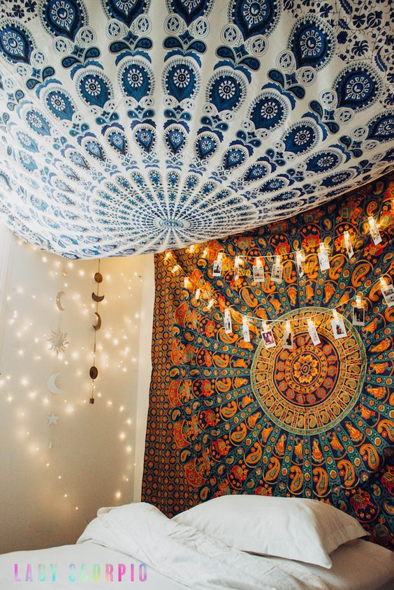 15 Brilliant Ideas For Using Your Wall Tapestry In