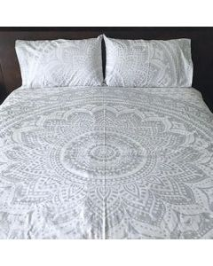 Moonstone Queen Duvet Cover With Pillow set