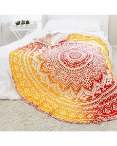 Opal Large Round Blanket - Classic