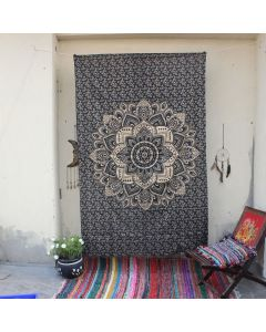 Lotus Wall Tapesty Boho Psychedelic Table Cloth Home decor