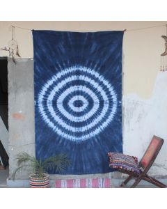 Tie Dye Wall Hanging Tapestry Boho Ethnic Table Cloth Yoga decor