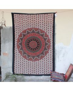 Star Wall Hanging Tapestry Bohemian Trippy Beach Throw Ethnic decor