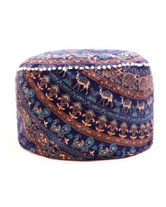 All in One Pouf Cover - Pom Pom
