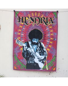 Purple Hendrix Wall Hanging Poster 30 in x 40 in