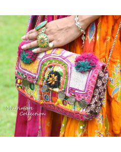 Vintage Banjara Clutch Bag Purse