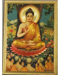 Meditation Buddha Magnet