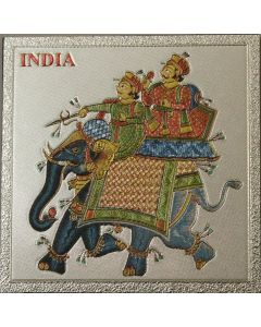 Large Indian Elephant Magnet