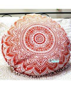 Opal Round Cushion Cover - Pom Pom