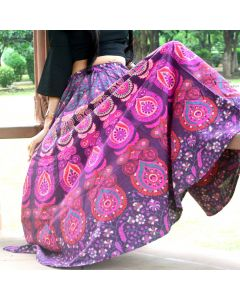 Valentine Indian Mandala Skirt