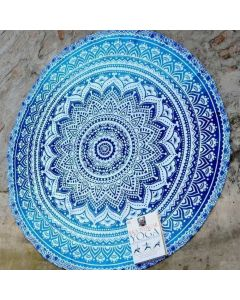 Sapphire Small Round Blanket - Classic