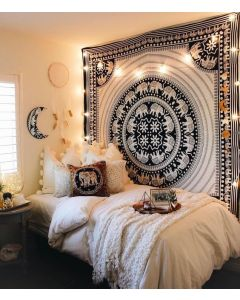 UP Hatthi Large wall Tapestry