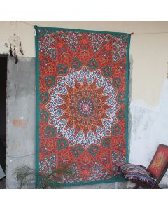 Star Wall Hanging Tapestry Boho Ethnic Table Cloth Trippy decor