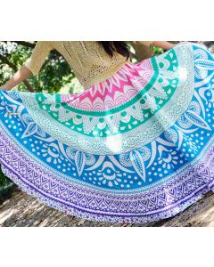 Goodness Multicolor Indian Mandala Skirt