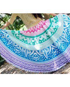 Goodness Multicolor Indian Mandala Skirt