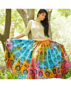 Magical Indian Mandala Skirt