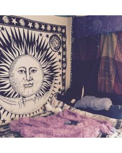Good Morning Large Tapestry