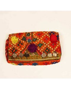 INDIAN NEW EMBROIDERED WOMEN HANDMADE PURSE
