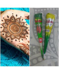 Natural Herbal Henna Cone - Pack of 2