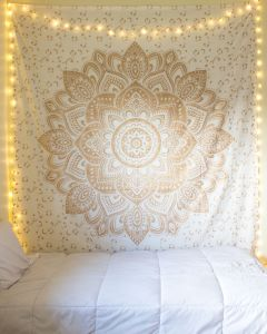 Sparkle Large Mandala Tapestry