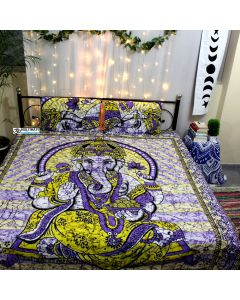 Yash Queen Duvet Cover With Pillow Set