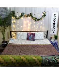 Floral Vibes Indian Recycled Quilt