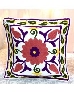 Floral Suzani Decorative Pillow
