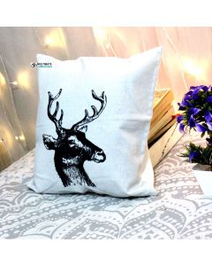 Black horse  Decorative Pillow With Zip