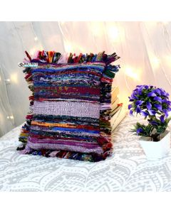 Multicolor Rug pillow cover Model 2