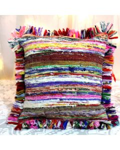 Multicolor Rug pillow cover Model 9