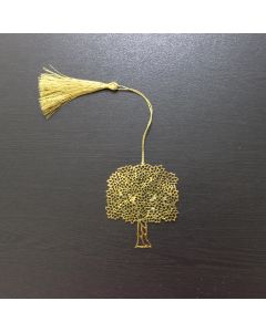 Golden Tree Bookmark