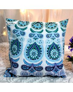 Blue peacock Decorative Pillow