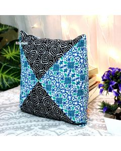 Multicolor Decorative Pillow with Zip
