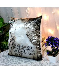 Horse  Decorative Pillow With Zip