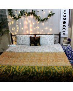Indian Kantha bedding