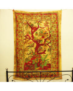 Life of Tree Twin Wall Tapestry