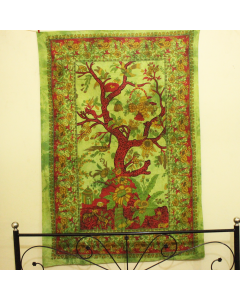 Beautiful Tree of Life Twin Tapestry