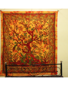 Life of Tree Large Wall Tapestry