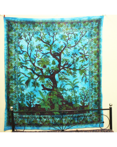 Large Life of Tree Wall Tapestry