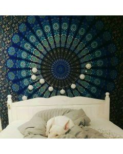 Ocean Wall Large Tapestry
