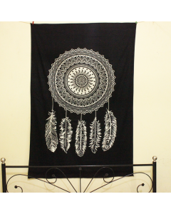 Delicate Feather Twin Wall Tapestry