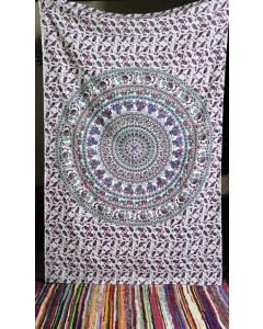 Indian Wall tapestries Bedroom Elephant Tapestry Throw