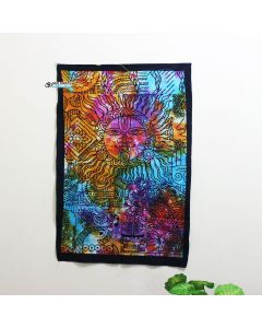 Tie Dye  Good Luck  Poster