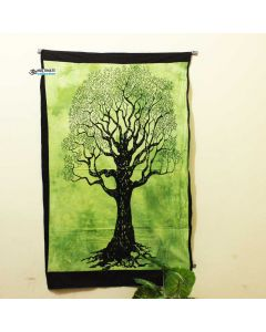 Green Lucky Tree Poster