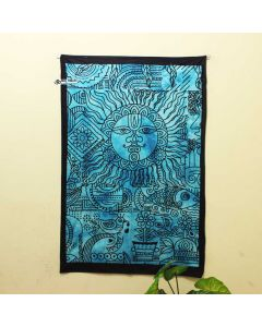 Turquoise Good Luck Poster