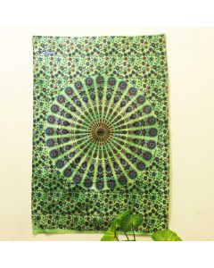 Green Hibiscus Poster