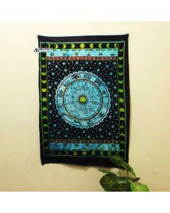 Turquoise Astrology Poster