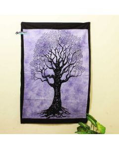 Purple Lucky Tree  Poster